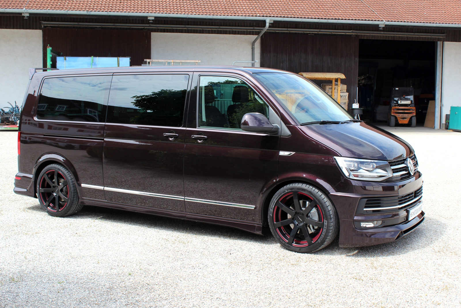 hs motorsport vw t6 multivan der familien sportler t6. Black Bedroom Furniture Sets. Home Design Ideas